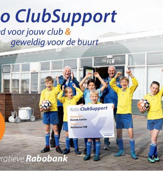 Westa doet mee met Rabo ClubSupport
