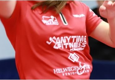 Nieuw damesteam Anytime Fitness/Westa